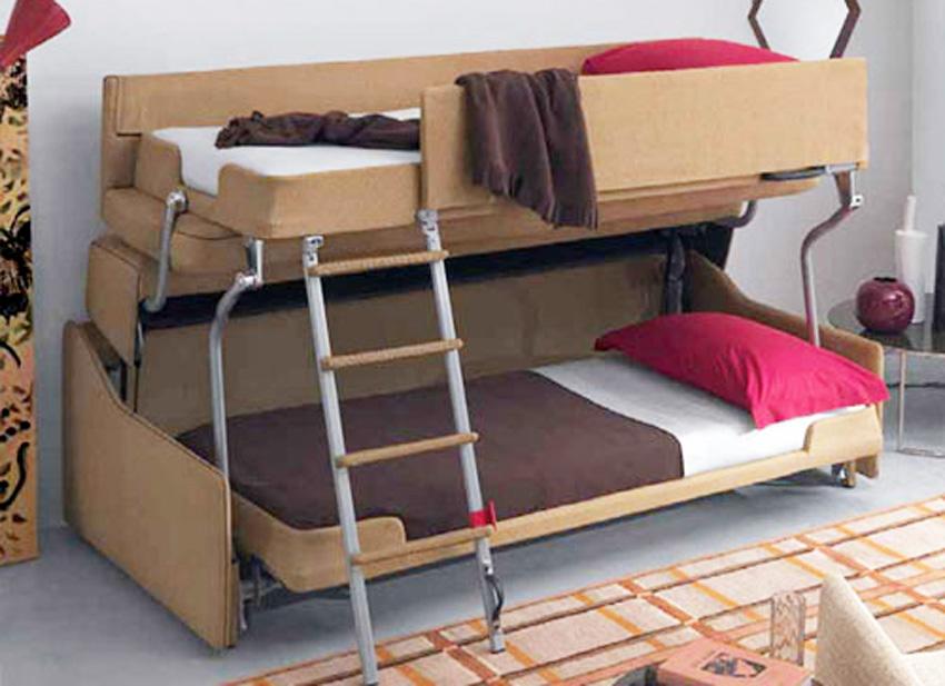 bunk sofa bed kinderbett hochbett samuel buche vollholz massiv mit 20 types of sofas couches. Black Bedroom Furniture Sets. Home Design Ideas