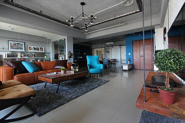 台中室內設計推薦|國泰上品硯|loft工業風|爵色 學裝潢 100裝潢設計